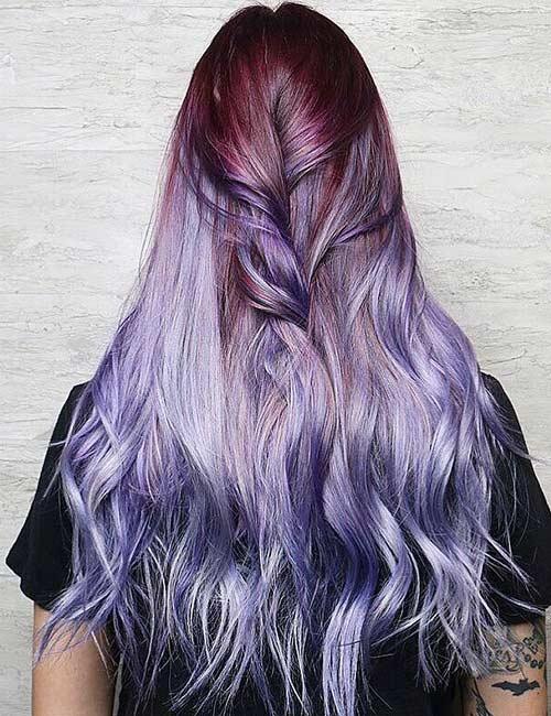 6. Molten Lilac