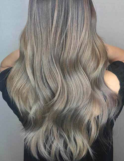 Top 25 Light Ash Blonde Highlights Hair Color Ideas For Blonde And