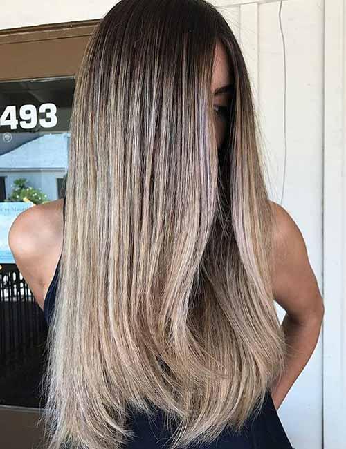 light hair color ideas purple hair 18 cafe latte top 25 light ash blonde highlights hair color ideas for and