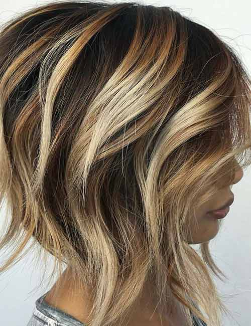 15. Heavy Blonde Highlights