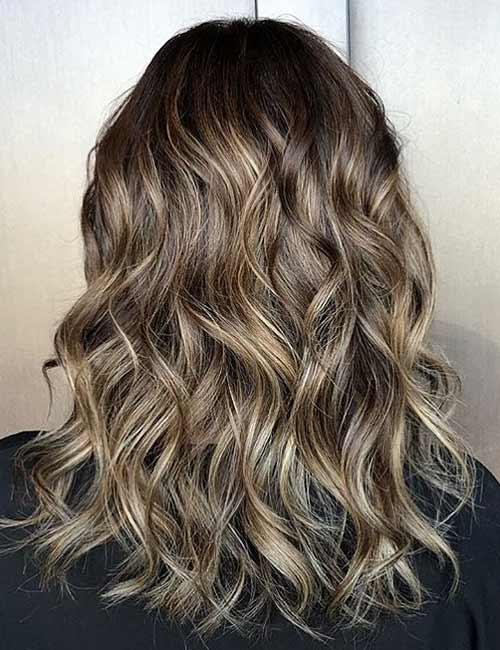 25 Gorgeous Highlight Ideas For Dark Hair Blushery
