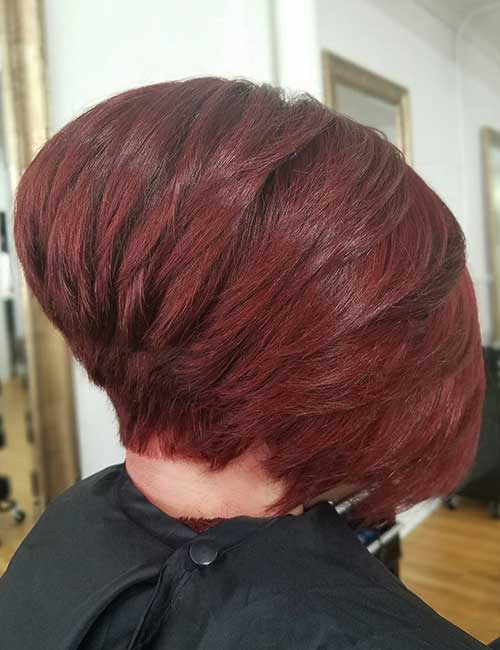 2. Short Stacked Inverted Bob