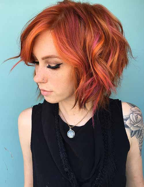 20 Lovely Styling Ideas For Layered Bob Hair Blushery