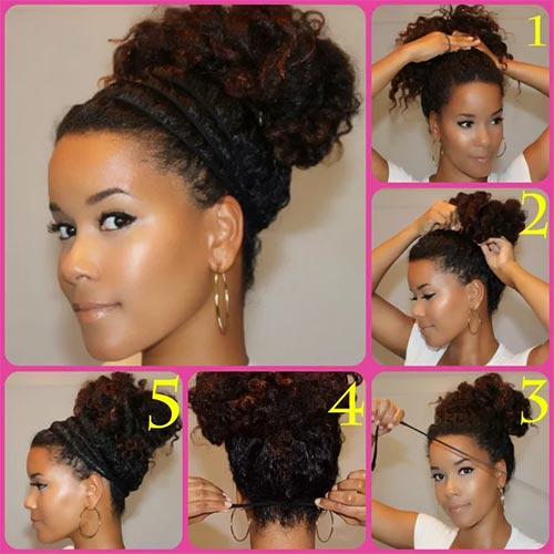 10 Stunning Hairstyles For Natural Hair Blushery