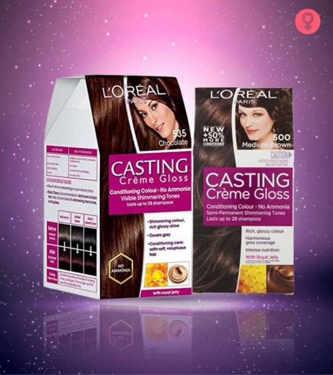 L Oreal Paris Casting Creme Gloss Hair Color Review Blushery