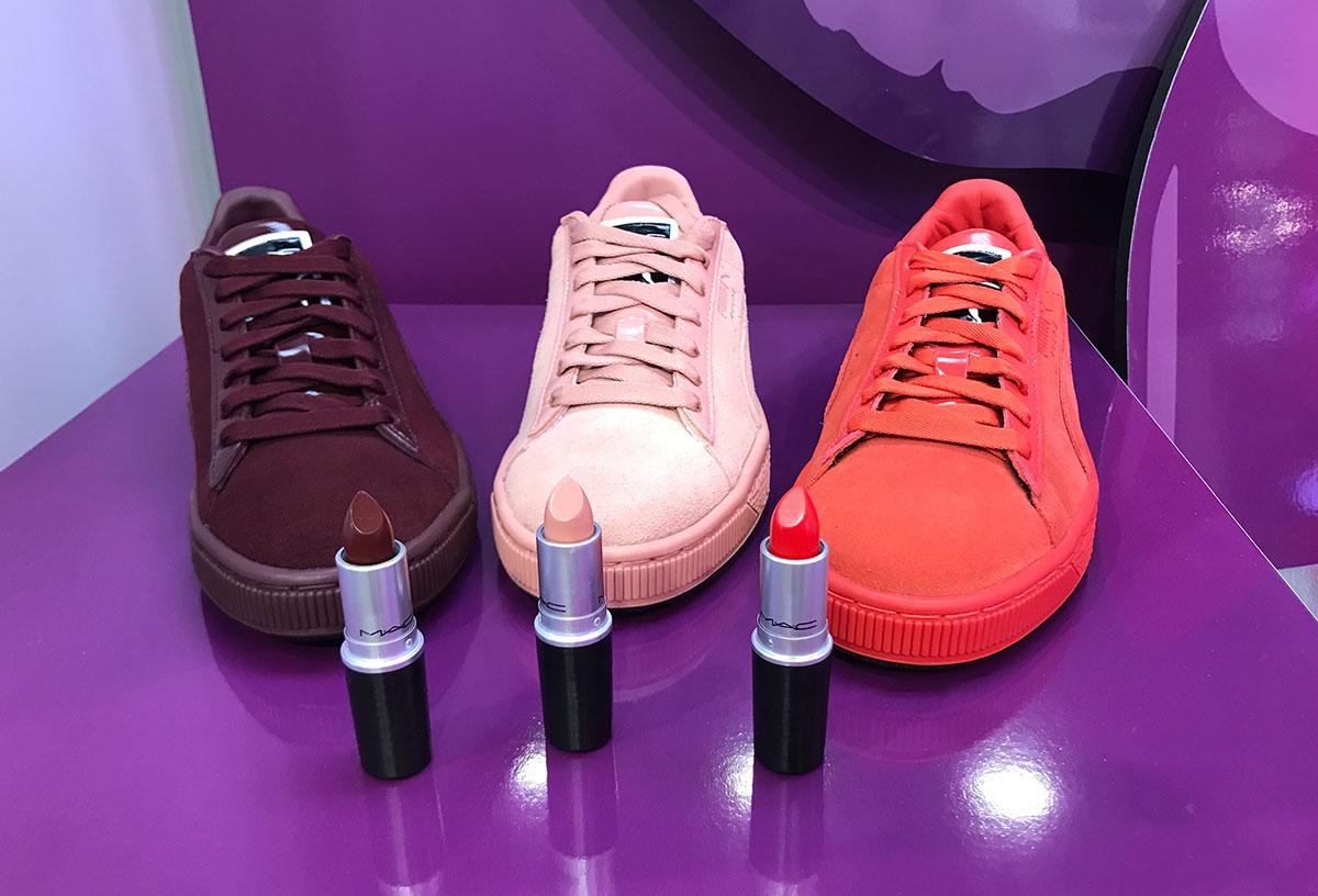 MAC Cosmetics x Puma launch at Six:02