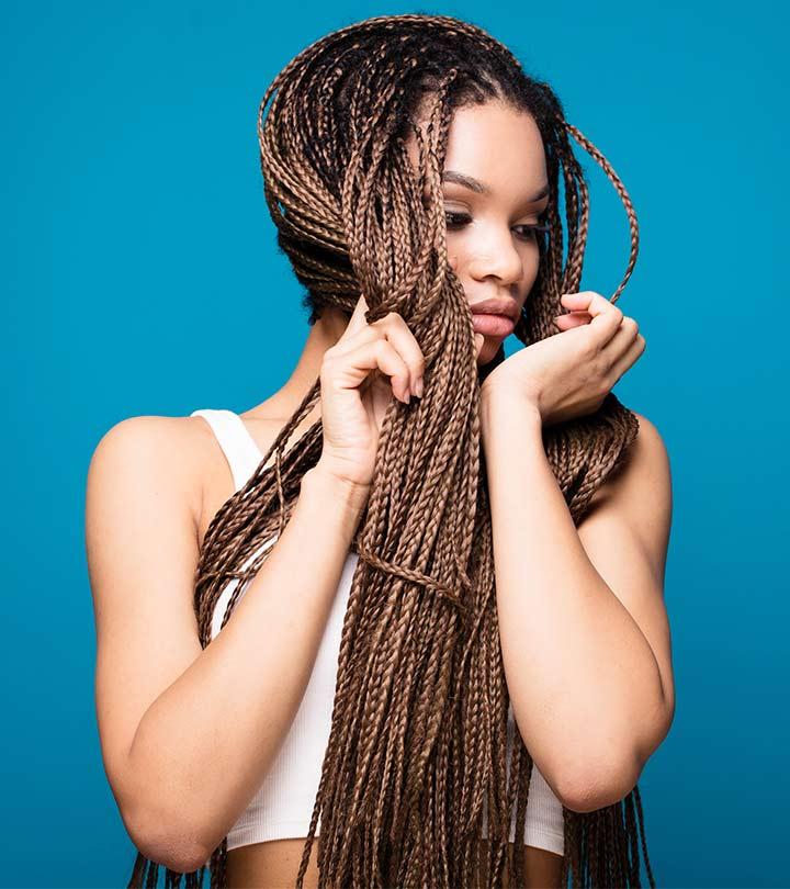 10 Amazing Black Braided Hairstyles - Blushery