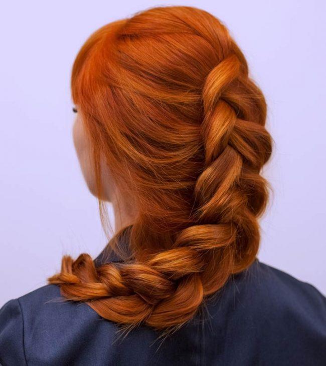 25 Eye Popping Dutch Braid Hairstyles Blushery