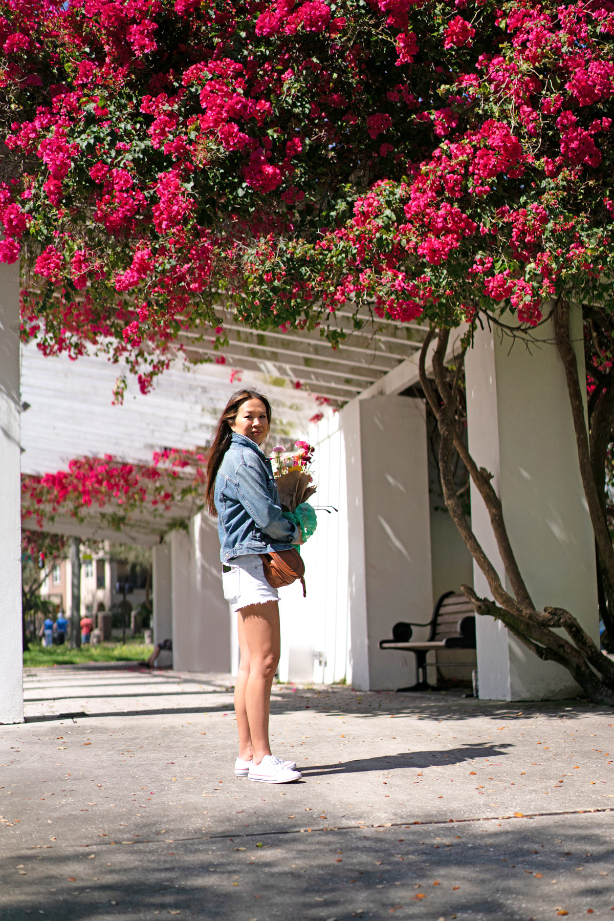Spring Outfit Favorites Chloe Mini Marcie Tan