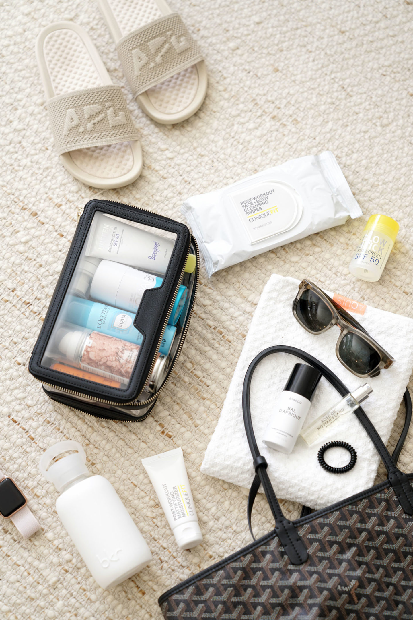 Gym Bag Beauty Essentials | The Beauty Look Book