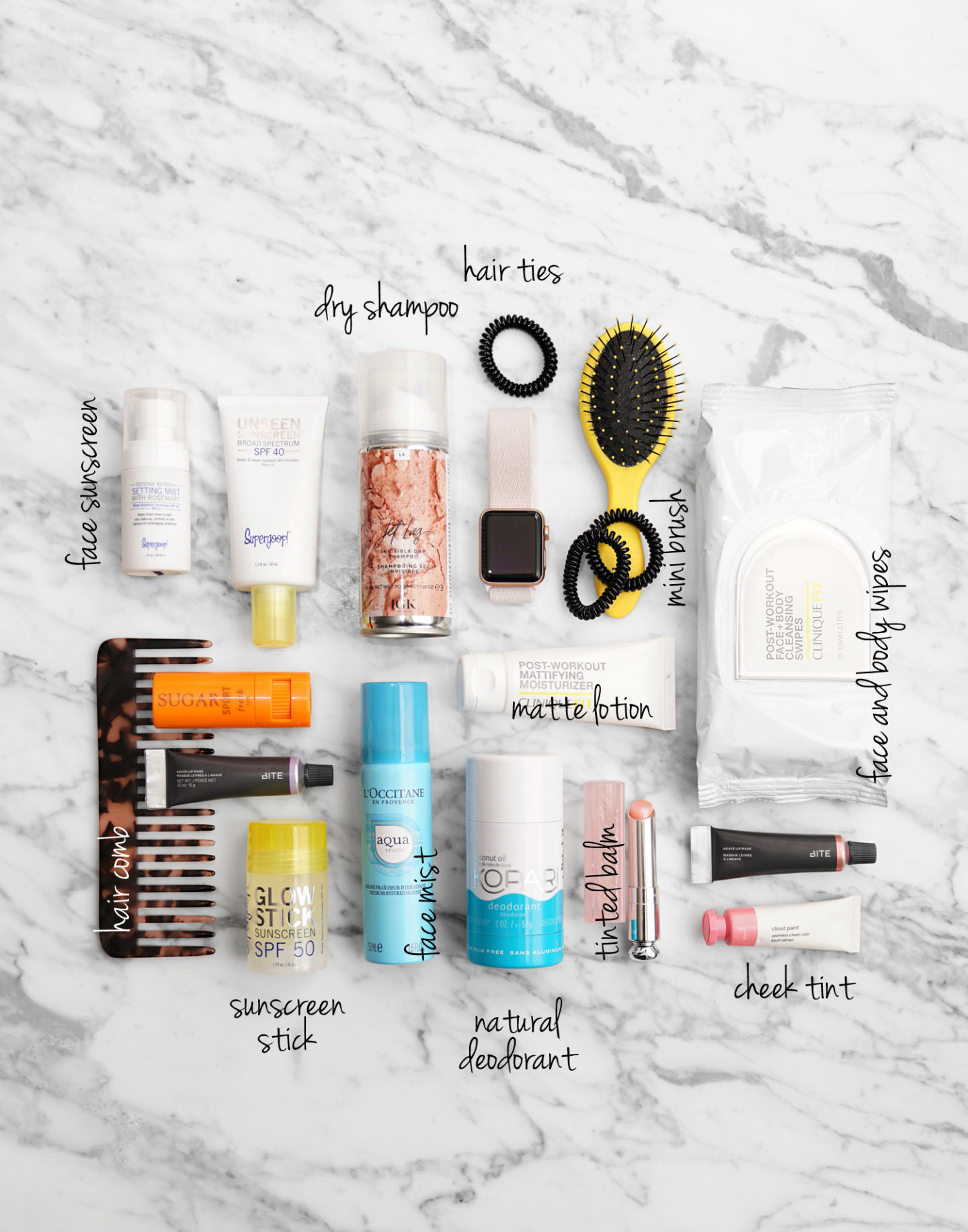 Pre and Post-Workout Beauty Essentials