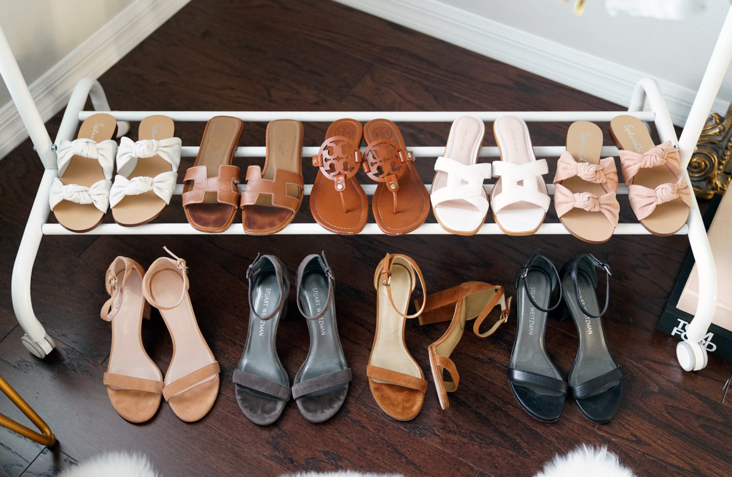 Favorite Sandals from Splendid, Hermes, Tory Burch, Stuart Weitzman