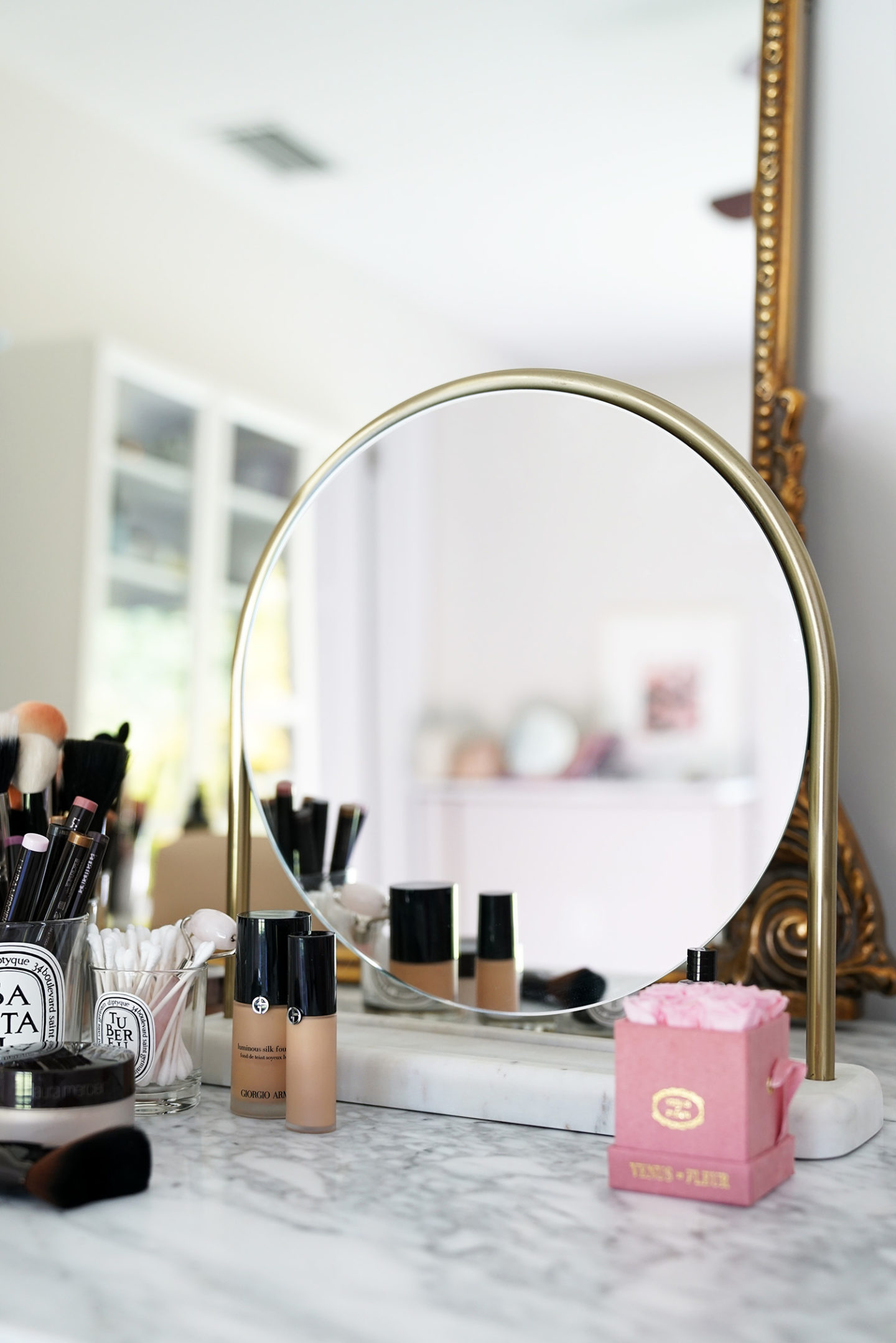 Beauty Look Book beauty room setup