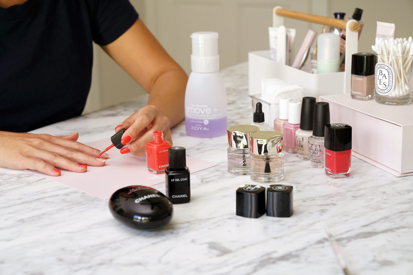 Nail Polish Application Tips from Sabrina The Beauty Look Book