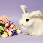 Deck Your Digits With This Negative-space Mani For Easter